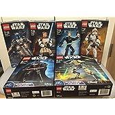 LEGO レゴ スターウォーズ ビルダブルフィギュア 全種セット