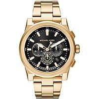MICHAEL KORS Men's MK8599 Year-Round Chronograph Quartz Gold Band Watch