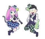 おそ松さん 【描き下ろし】 橋本にゃー&チョロ松 吹奏楽松 アクキーセット