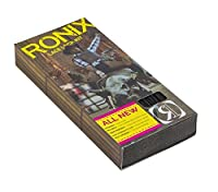 Ronix Lace Lock Kit (Set Of 4 Laces And Lace Locks) Black [並行輸入品]
