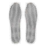 自己発熱マッサージインソール、女性と男性マグネット指圧足磁気マッサージシューズブーツパッド(EUR 38)