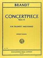 ブランド: 演奏会用小品 第2番 Op.12/インターナショナル・ミュージック社/トランペットとピアノ
