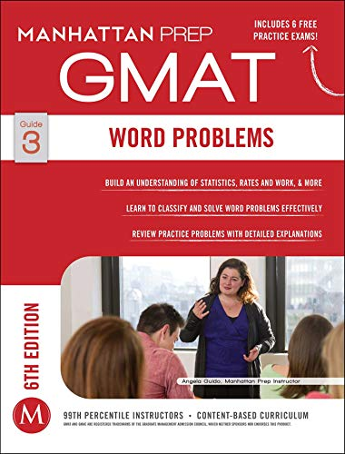 Download Word Problems GMAT Strategy Guide, 6th Edition (Manhattan Prep GMAT Strategy Guides) 1941234089
