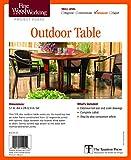 アウトドア用品 Fine Woodworking's Outdoor Table Plan