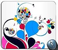 コンピュータマウスパッド、マウスパッド、マウスパッド、カラー明るいモードマウスパッド