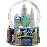 Musical New York City Snow Globe, 100mm New York City Snow Globes, 5.5 Inches Tall, PLAYS