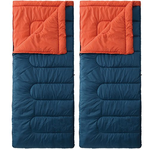 Coleman(コールマン) 寝袋 パフォーマーII/C5(ネイビー/バーミリオン) 2000027262 + パフォーマーII/C5(ネイビー/バーミリオン) 計2点セット