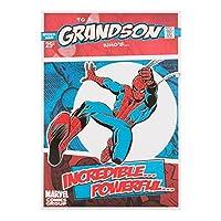 Hallmark Marvel Spiderman Grandson誕生日カード'強力な'–Medium