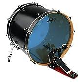 EVANS エヴァンス バスドラムヘッド ハイドローリック ブルー BD22HB / Hydraulic Bass Heads Blue (7mil + 7mil) 22インチ 【国内正規品】