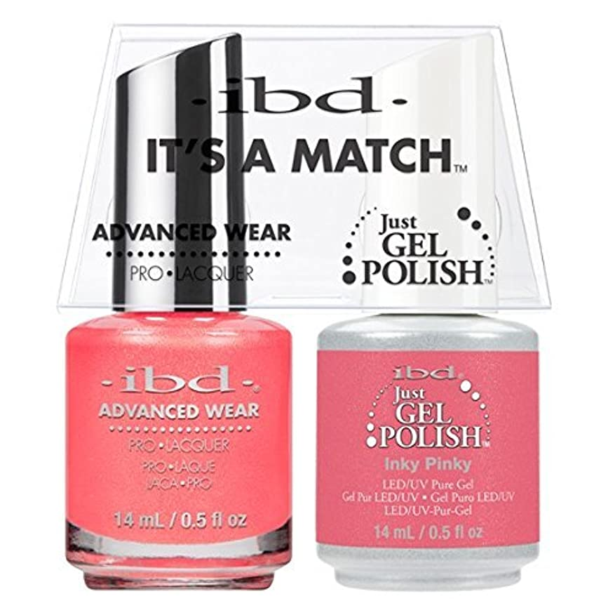 作家なんとなく句読点ibd - It's A Match -Duo Pack- Inky Pinky - 14 mL / 0.5 oz Each