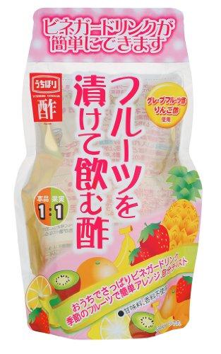 内堀醸造 フルーツを漬けて飲む酢 400ml