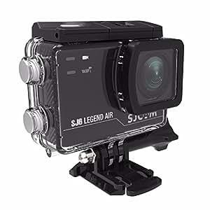 【SJCAM正規品】 SJ6 Legend Air [SJ5000X Eliteのアプグレード版] WIFI 4K スポーツカメラ 30M防水 2.0インチTouch Screen 手ブレ防止 30M防水 166°広角 ウェアラブルカメラ -ホワイト