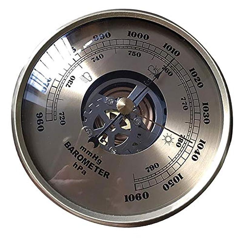 ウェイド秘書ネコAlmencla 108mm 気圧計 円形 ダイヤル 空気 気象観測所 mmHg/HPa 実用性