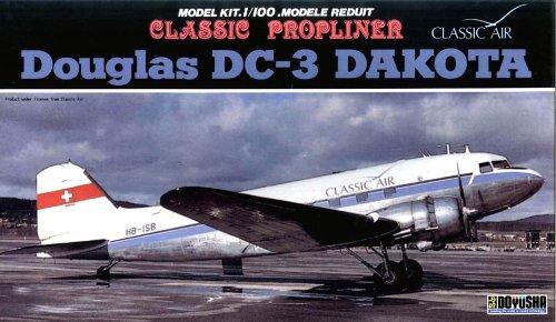 1/100 DC-3 スイスエアー