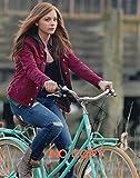 大きな写真、クロエ・グレース・モレッツ、自転車で