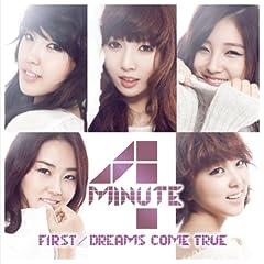 4Minute「DREAMS COME TRUE (JAPANESE VERSION)」のジャケット画像