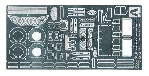 1/24 ディテールアップパーツ No.03 GRB インプレッサ WRX STI 5door '07用 エッチング&メタルパーツセット