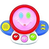 ハッピードラム ひかる カラフル 赤ちゃん おもちゃ 知育玩具 [並行輸入品]