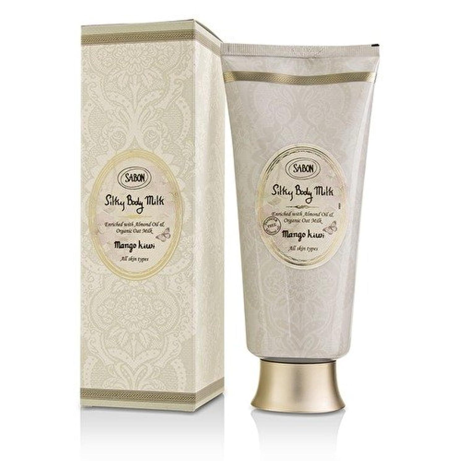 パシフィック修正する意見サボン Silky Body Milk - Mango Kiwi 200ml/7oz並行輸入品