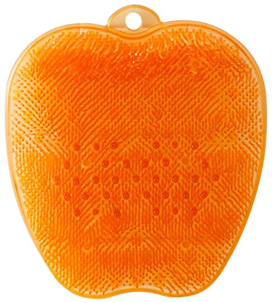 ぐったり王位聖職者tone フットブラシ オレンジ TR-15