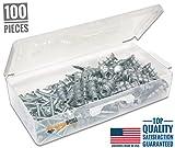 # 1最高品質亜鉛セルフドリルねじで乾式壁アンカーキット、100ピースAll Together