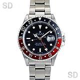 [ロレックス]ROLEX腕時計 GMTマスターII ブラック/レッドブラックベゼル Ref:16760 メンズ [アンティーク] [並行輸入品]