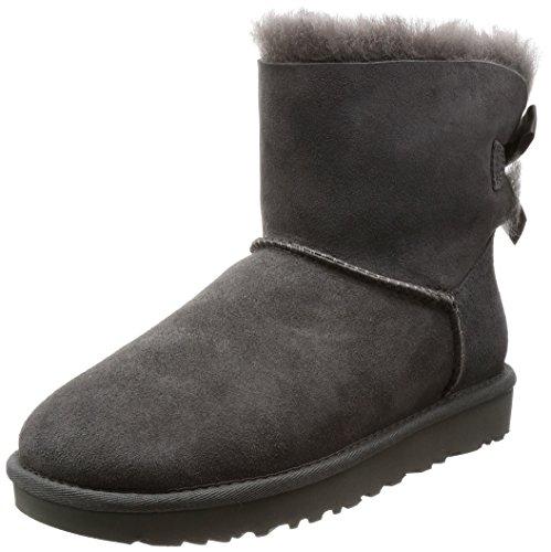 [アグ] ブーツ Mini Bailey Bow II 1016501 12620094 Grey US 7(24 cm) [並行輸入品]