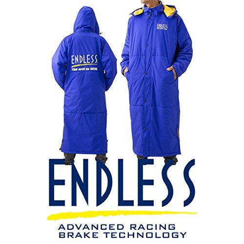 ENDLESS エンドレス ベンチコート ブルー XLサイズ...
