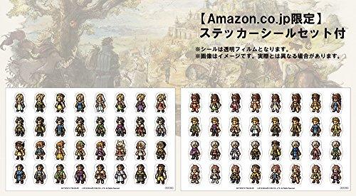 オクトパストラベラー 【Amazon.co.jp限定】ステッカーシールセット 付 - Switch