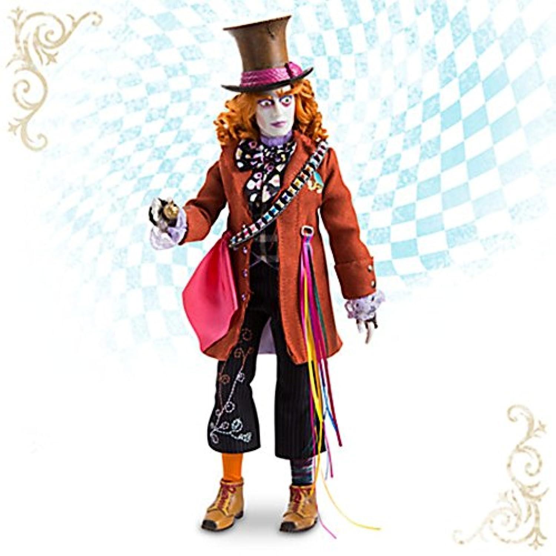 ディズニー「アリス?イン?ワンダーランド/時間の旅」12インチ?コレクションドール マッドハッター Mad Hatter Disney Film Collection Doll - Alice Through the Looking Glass - 13 1/2'' 【平行輸入品】