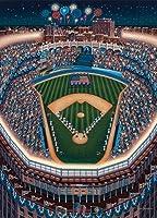 新しいYork Yankees Stadium 500ピースジグソーパズルDowdleフォークアート