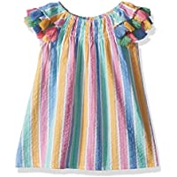 Masala Baby Baby-Girls Baby Sundancer Dress Rainbow Stripe