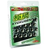 KYO-EI [ 協永産業 ] HEPTAGON NUT [ M12×P1.5 ] フ゛ラックメタリック [ 個数:20P ] [ 品番 ] HP011B