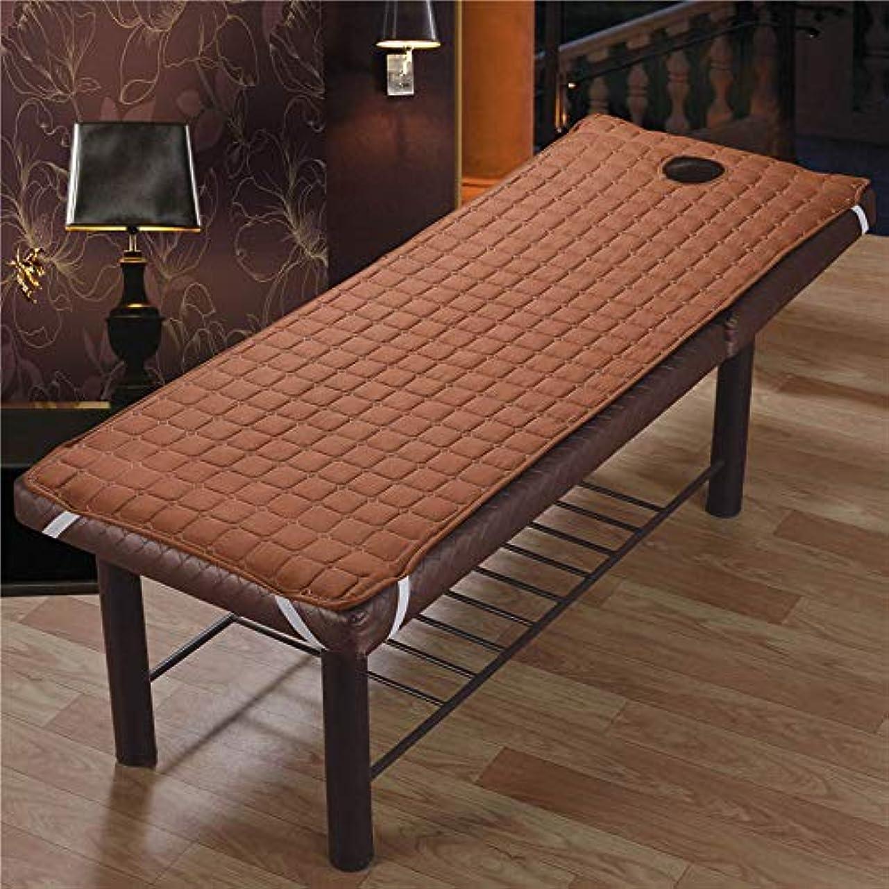 脈拍チャペル重荷CoolTack  美容院のマッサージ療法のベッドのための滑り止めのSoliod色の長方形のマットレス