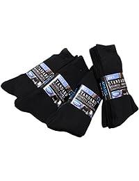 靴下 メンズ 16足セット ビジネス 黒 ソックス リブ編み ブラック