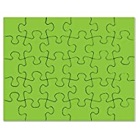 CafePress - Spring Green Solid Colour - Jigsaw Puzzle, 30 pcs.