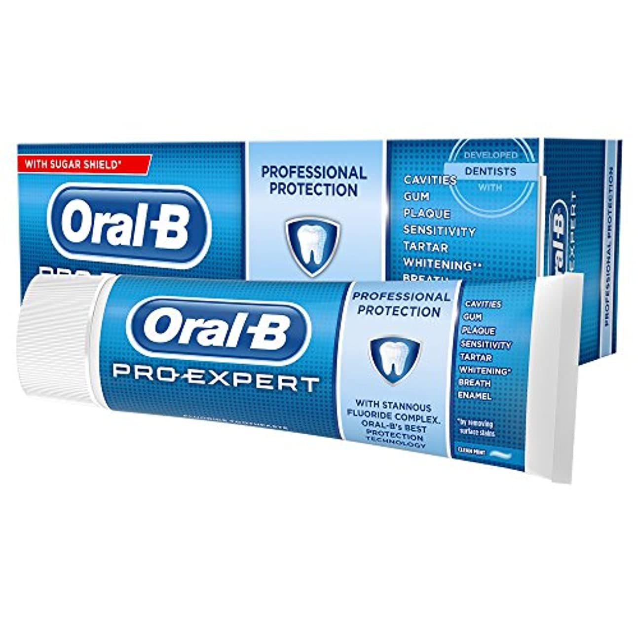 連隊粗い気絶させるOral-B 75ml Pro Expert All-Round Protection