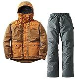 ロゴス(LOGOS) 汚れに強い防水防寒スーツ カーター ブラウン L 30340672 ブラウン L