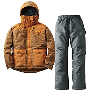 ロゴス(LOGOS) 汚れに強い防水防寒スーツ カーター ブラウン M 30340673 ブラウン M