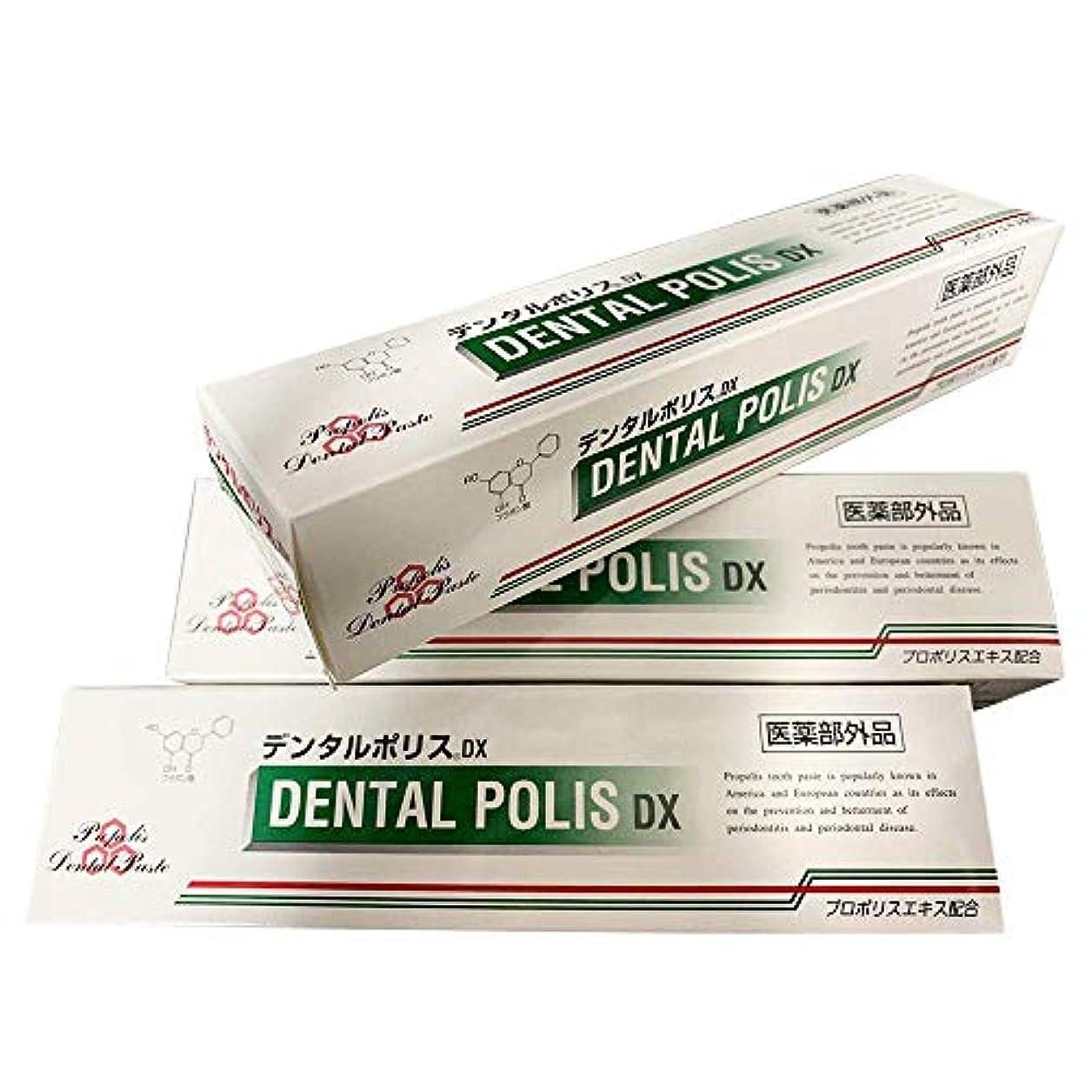 換気するやりがいのある栄養デンタルポリスDX 80g 3個 A-KG オリジナルセット