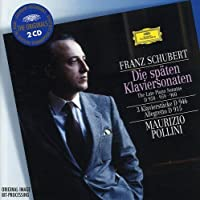 Schubert: The Late Piano Sonatas, D.958, D.959, & D.960 ~ Pollini (2003-08-04)