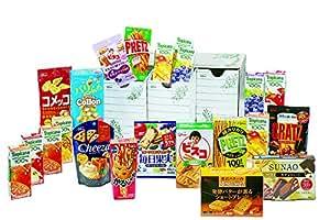 グリコ パーティボックスセット 菓子と飲料22品