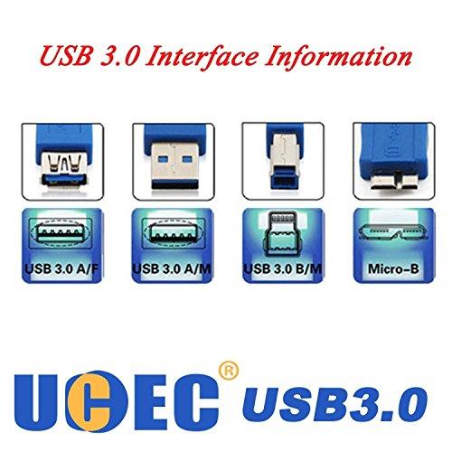 『UCEC USB 3.0ケーブル–右角度Aオスto Micro Bケーブルコネクタアダプタ UCEC_UC-4270』の5枚目の画像