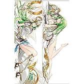 パズドラ アテナ Puzzle&Dragons athena 2wayトリコット 150×50cm 両面プリント Anime Dream キャラグッズ アニメ 抱き枕カバー Anime Pillow Cover