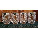 Ralph Lauren ステムレスワイングラス 4個セット クリスタルブロンガン 15.8オンス