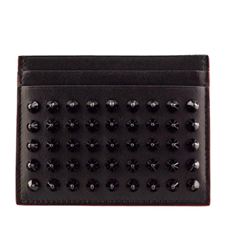 クリスチャンルブタン 二つ折り財布 レディース ブラック 3165091 BLACK/BLACK [並行輸入品]