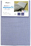 メリーナイト 敷布団カバー 「ギンガム」 SLサイズ 105×215cm ネイビー PC13101-72