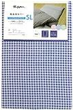 メリーナイト 敷布団カバー 「ギンガム」 シングルロング ネイビー PC13101-72