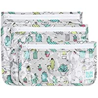Bumkins Clear Travel Bag 3 Pack, Cacti