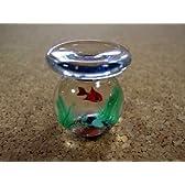 【ベネチアガラス アクアリウム】金魚鉢水草入り 2サイズ
